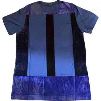 Christopher Kane Blue Cotton T-shirts