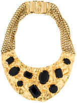 Michael Kors Crystal Bib Necklace