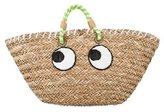 Anya Hindmarch Eyes Straw Tote
