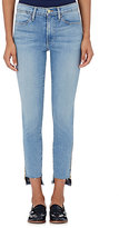 Frame Women's Le High Skinny Raw Stagger Zip Jeans-Light Blue