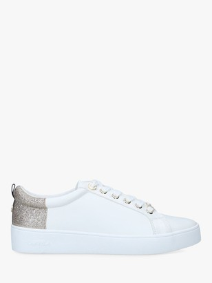 Carvela Jupiter Lace- Up Trainers, Gold