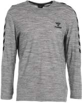 Hummel Classic Bee Willum Long Sleeved Top Grey Melange