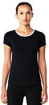 sport Women's Speed Running Short Sleeve T-shirt-Black