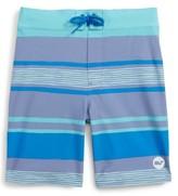 Vineyard Vines Toddler Boy's Surfer Stripe Board Shorts