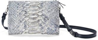 Leigh Ann Barnes Python 5-in-1 Convertible Crossbody Bag