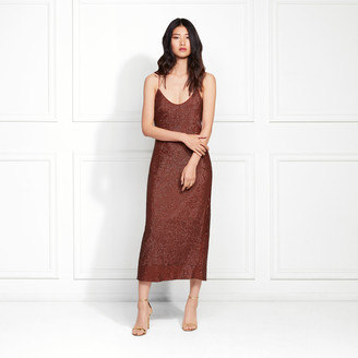 Rachel Zoe Sistine Fluid Sequin Midi Dress