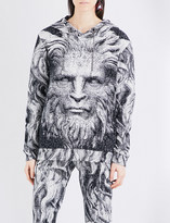 Christopher Kane Beauty and the Beast cotton hoody