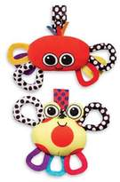Sassy 2-Pack Crab Chime & Lobster Jitter
