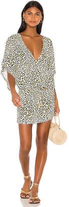Luli Fama Cabana V Neck Dress