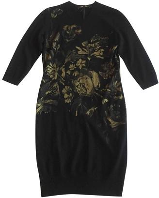 Roberto Cavalli Black Wool Dress for Women
