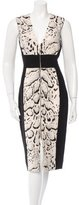 Prabal Gurung Sleeveless Sheath Dress