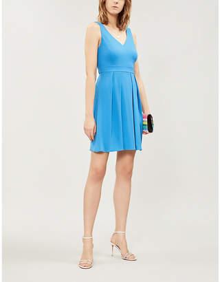 Claudie Pierlot Rencontre bow-detail crepe mini dress