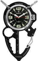 Dakota Men's Black ION Multi Tool Clip Watch 38562