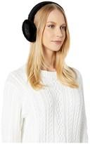 UGG Classic Sheepskin Non-Tech Earmuffs (Black) Cold Weather Hats