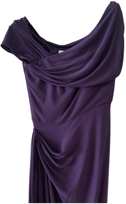 Christian Dior Purple Synthetic Dresses