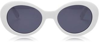 Nine West Fashion Oval Ladies Sunglasses