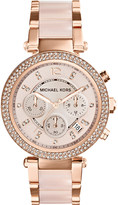 Michael Kors MK5896 Parker rose gold-tone watch