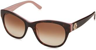 Juicy Couture Women's Ju 587/s Square Sunglasses HAVANA PINK 53 mm