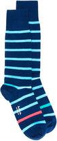 Paul Smith neon simple stripe socks - men - Cotton/Nylon/Polyester/Spandex/Elastane - One Size