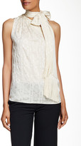 Rachel Zoe Erica One-Shoulder Silk Blouse