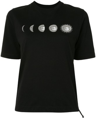 Kirin Moon-print short-sleeve T-shirt