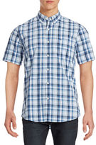 Dockers Short Sleeve Check Sport Shirt