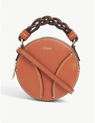 Chloé Daria mini round leather cross-body bag