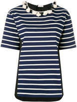 Moncler striped short sleeve T-shirt