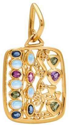 Temple St. Clair Nature Deconstructed Campo de' Fiori 18K Yellow Gold & Mixed-Stone Pendant