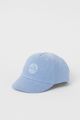 H&M Embroidered-detail cotton cap