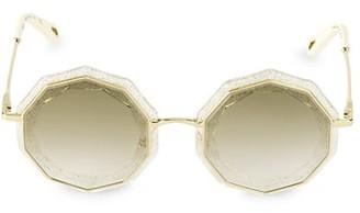 Chloé Caite 52MM Geometric Sunglasses