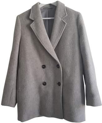 Filippa K Grey Wool Jacket for Women