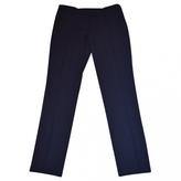 Valentino Navy Viscose Trousers