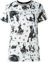 Fausto Puglisi horse print T-shirt