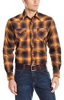 Wrangler Men's Retro Long Sleeve Western Shirt