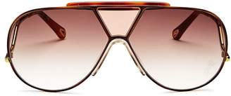 Chloé Women's Willis Shield Aviator Sunglasses, 59mm