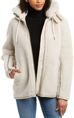 Rag & Bone Ashlee Leather Coat