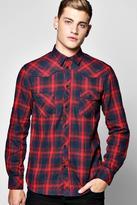 Boohoo Multi Striped Checked Shirt