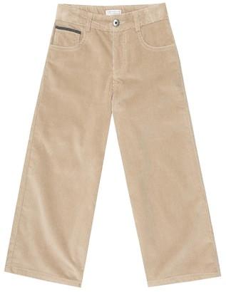 BRUNELLO CUCINELLI KIDS Corduroy pants