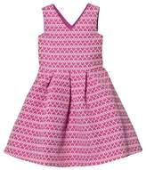 GUESS Pink Heart Jacquard Dress