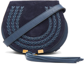 Chloé Small Marcie Suede & Leather Satchel