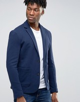 Jack and Jones Slim Blazer in Jersey