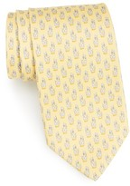 Salvatore Ferragamo Men's Giraffe Silk Tie
