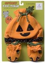 Gund Boo-Tique Pumpkin/Bat Hat and Bootie Costume 0-6 Months