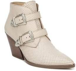 Franco Sarto Granton Leather Heeled Booties