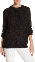 Topshop Metallic Sweater