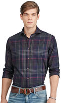Polo Ralph Lauren Plaid Cotton Twill Sport Shirt
