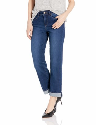 NYDJ Women's Marilyn Straight Ankle Jean with Cuff