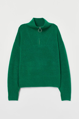 H&M Knit Sweater - Green