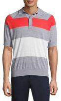 G/FORE Striped Raglan Sleeve Sweater
